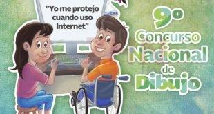 Promueven concurso de dibujo para que niñez y juventud aprendan prácticas seguras en uso de internet