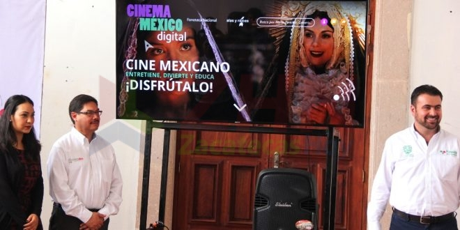 Inicia el proyecto Plataforma Digital Cinema México en el estado