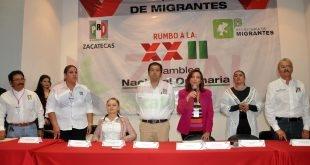 En foro regional migratorio el PRI propone extender a todo el país el Programa Corazón de Plata
