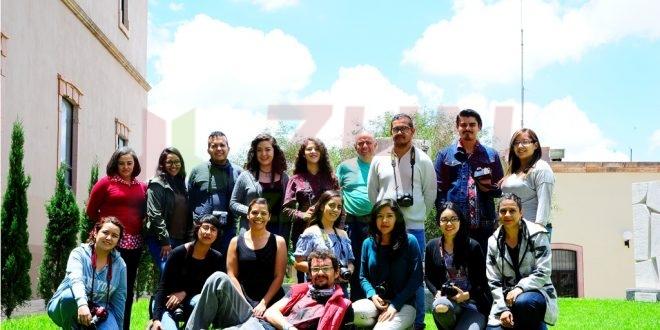Fototeca Zacatecas impartió taller básico de fotografía digital