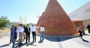 Gobernador Tello supervisa acciones de mejoramiento al complejo Ciudad Gobierno