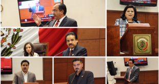 LXII Legislatura guarda un minuto de silencio en memoria de las víctimas del terremoto