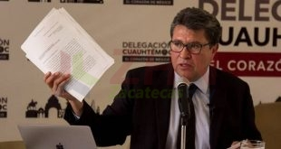 Mi decisión es acompañar a Andrés Manuel: Monreal