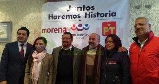 Piso parejo para todos los aspirantes a candidatos: Coalición Juntos Haremos Historia