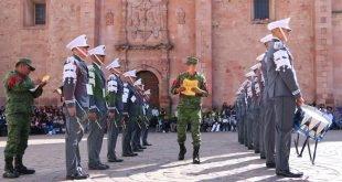 Realiza Colegio de Bachilleres concurso anual de escoltas y bandas de guerra