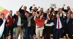 Alejandro Tello asistió al registro de Pepe Meade como candidato a la Presidencia de México