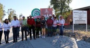 Comunidades de Nochistlan reciben beneficios de Más de Mil Obras para Zacatecas 2018