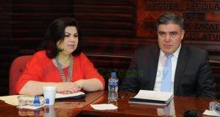 Se reúnen legisladores locales con secretario de Seguridad Pública