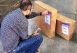 Parte primer embarque de artesanías zacatecanas rumbo a España