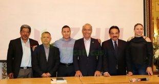 Zacatecas reúne a los tres secretarios migrantes del país