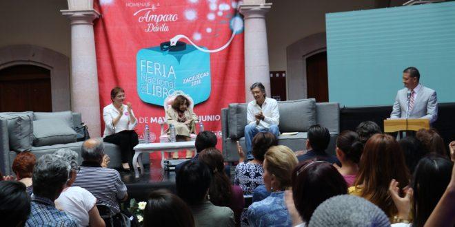 Inicia la Feria Nacional del Libro Zacatecas 2018 con un homenaje a la escritora Amparo Dávila