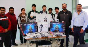 Impulsan robótica para mejorar competencias de estudiantes del Cobaez