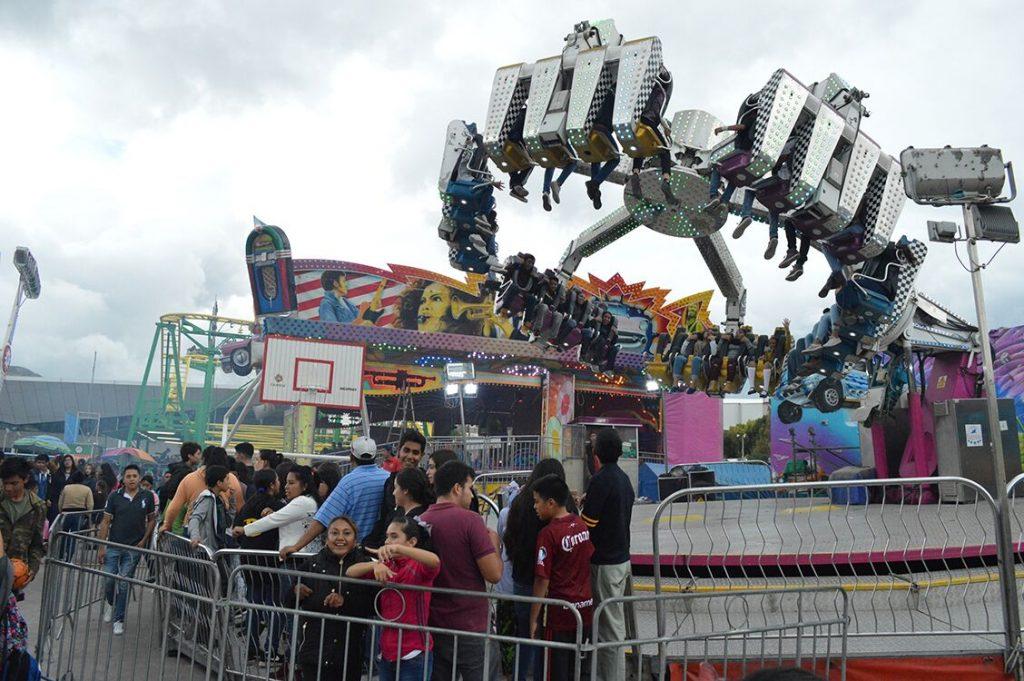 Miles De Ninos Zacatecanos Disfrutan De Los Juegos Mecanicos Gratis