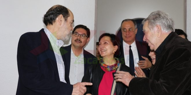 Inauguran exposiciones de Carlos Pellicer, Paul Nevin y Guillermo Zapfe en Zacatecas
