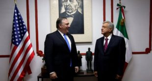 Ágil y cálida la conversación entre AMLO y Pompeo, dice Ebrard