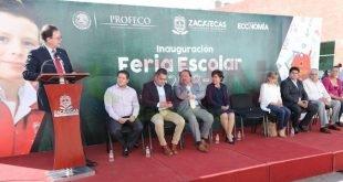 Inaugura Godezac Feria Escolar 2018