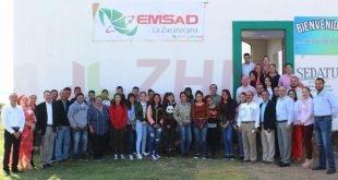 Inicia Cecytez ciclo escolar 2018-2019 con apertura de nuevo Centro Emsad en la zacatecana