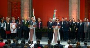 Mensajes del Presidente Enrique Peña Nieto y el Presidente Electo, Andrés Manuel López Obrador, al término de la reunión con sus Gabinetes
