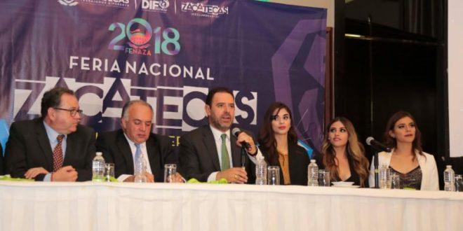 La Fenaza es la oportunidad para celebrar las fiestas patrias y conocer la belleza de Zacatecas: Tello al presentar en la CDMX programa de feria