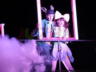 La magia escénica de Theater Titanick se apoderó de Zacatecas en el inicio del Festival Internacional de Teatro de Calle 2018
