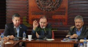 Diputados y diputadas de la LXIII Legislatura sostienen reunión con el senador Francisco Alfonso Durazo Montaño