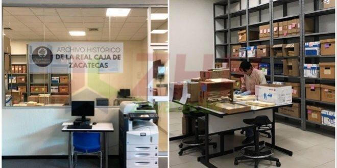 Cuatro siglos de historia resguardados en Campus Zacateca