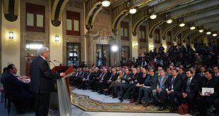 Con el aumento del 16% al salario mínimo, iniciamos juntos una nueva etapa en la política salarial de México: presidente López Obrador