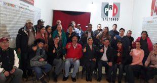 Revisa PRI estructuras y militantes en Tepetongo