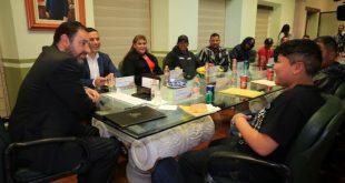 Entrega Alejandro Tello apoyos para proyectos productivos a zacatecanos deportados de EUA