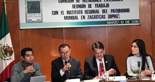Recibe Comisión de Relaciones Exteriores al  Instituto Regional del Patrimonio Mundial, Categoría 2
