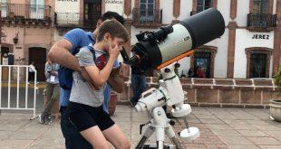 Realiza gobierno estatal actividades astronómicas dentro del Festival Cultural Zacatecas 2019