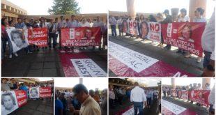 Magisterio zacatecano se opone a presencia de Elba Esther Gordillo en el SNTE