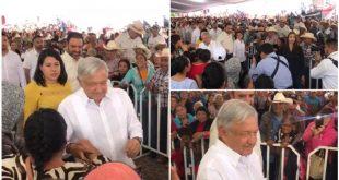 El Presidente Andrés Manuel  López Obrador ya está en Pinos, Zacatecas