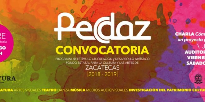 Convocan a zacatecanos a participar en el Pecdaz 2019
