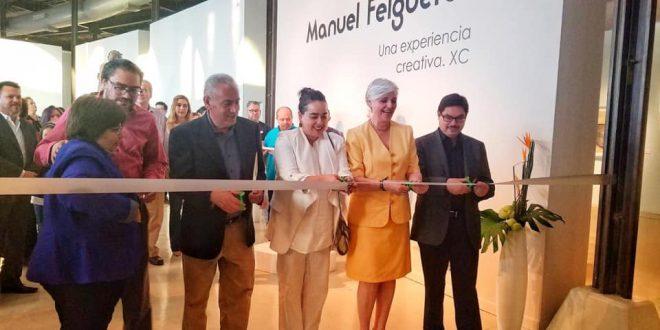 Exponen obra del artista zacatecano Manuel Felguérez en el Museo Casa Redonda en Chihuahua