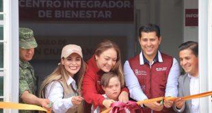 Inauguran Centro Integral de Bienestar en Tacoaleche