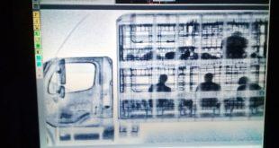 Localizan con rayos X a 51 migrantes que viajaban en condiciones de hacinamiento en un camión de carga en Zacatecas