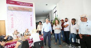 Los centros integradores de Bienestar son nuestro punto de conexión con la sociedad: Verónica Díaz