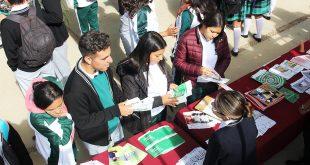 Fomentan Cobaez y ayuntamiento de Zacatecas el bienestar entre bachilleres