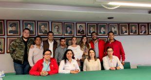 Firman acuerdo de civilidad política para la elección de la dirigencia de la Red Jóvenes por México en Zacatecas