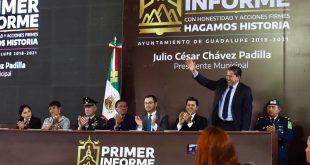 Gobierno de Mexico conoció los avances del primer año de labores en el Municipio de Guadalupe (Video)