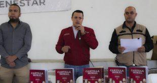 Entrega Gobierno de México 66 mil ejemplares de la Cartilla Moral en Zacatecas