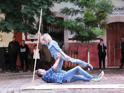 Se apropia Compañía de Teatro de Teatro Española de las calles de Zacatecas
