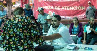 Entrega Gobierno de México 8 mdp de la Pensión para el Bienestar de los Adultos Mayores en seis municipios