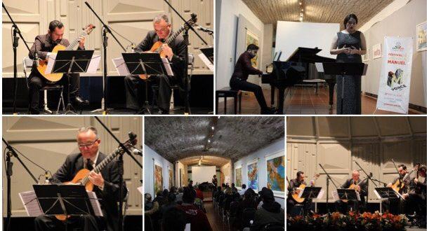 Soupir y Kanari se presentan en el Festival de Música Manuel M. Ponce