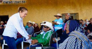 Inicia la entrega de 300 mdp de la Pensión para el Bienestar en beneficio de 130 mil adultos mayores de Zacatecas