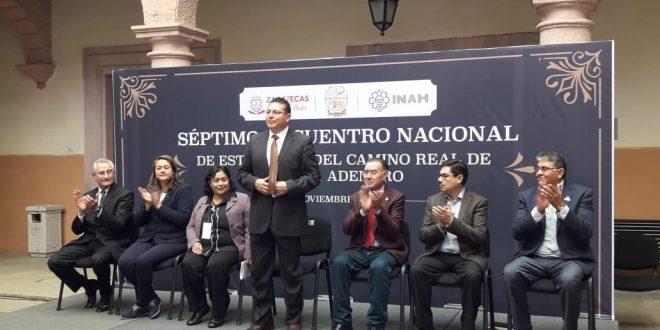 Inició en Zacatecas el Séptimo Encuentro Nacional de Estudiosos del Camino Real de Tierra Adentro