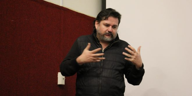 Diego Enrique Osorno imparte en Zacatecas Taller de Crónica Documental