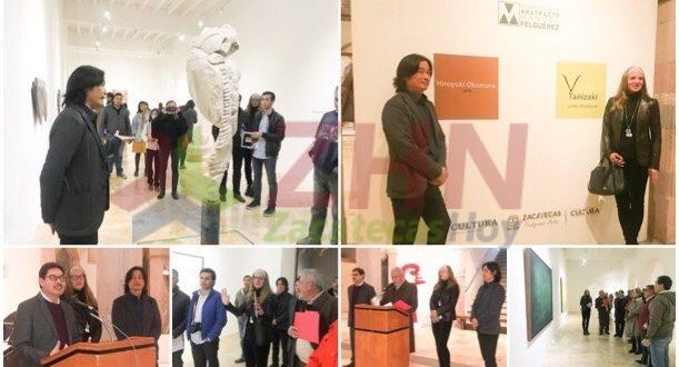 Inauguran exposiciones de Lenka Klobásová e Hiroyuki Okomura en el MAAMF