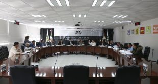 Consejeras y consejeros electorales rindieron informe anual ante el Consejo General del IEEZ